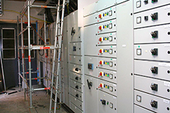 Addition to electrical room for Cheal expansion