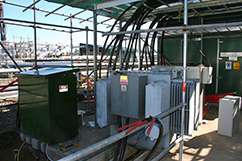 High Voltage Power upgrade at Cheal A-Site