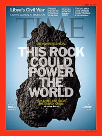 Time Magazine article on oil and gas-rich shale