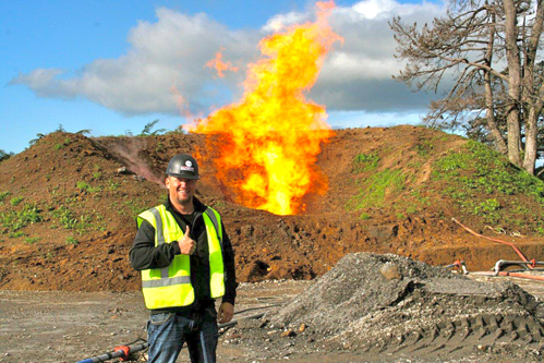Strong flow test at TAG Oil's Sidewinder 3 well