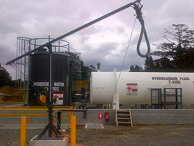 New Plymouth's Sidewinder Facility