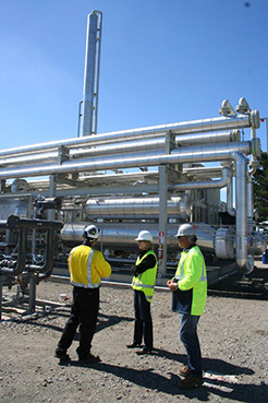 Gas-to-gas exchanger